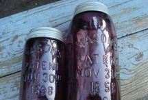 Old Canning Jars/Glass Bottles / by Beula Withrow