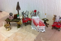 Fairy houses,furniture and accessories