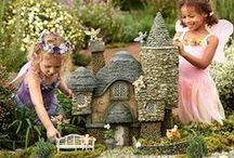 Garden - Fairy Garden / Clap your hands if you believe in Fairies! / by Lyoness Rose