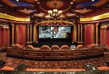 Home - Lux Theater Room / Theater rooms for the home. / by Lyoness Rose