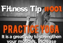FITNESS TIPS AND WORKOUTS / Weekly tips on fitness, health and wellness.