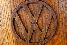 Volkswagen Beetle de madera