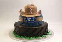 Sculpted Cakes & 3D Elements!