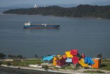 Frank Ghery Museum / The new Ghery Biodiversity Museum in Panama City, Panama