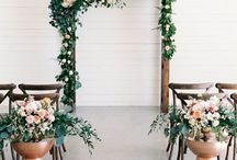 Ceremony backdrops / Imagining walking down that aisle with your ultimate backdrop design you've always dreamt of!