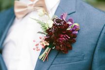 Groomsmen / Suits, tux's and corsages to name a few of the delights we're loving for those special Groomsmen