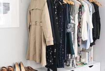 CLOSETS / Closet organization and design