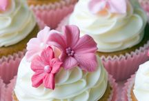 Cupcake decor and icings