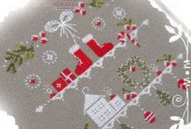 Cross stitch - New Year
