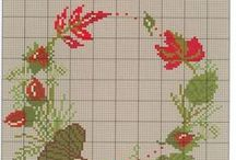 Cross stitch - Autumn