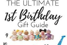 1st birthday ideas / all the fun of baby's first birthday!
