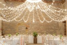 Wedding lighting / Beautiful and creative ways to decorate your venue with pretty #wedding #lighting