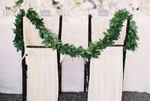 Chair decor and detailing / Ideas for adding that finishing touch to your wedding chairs