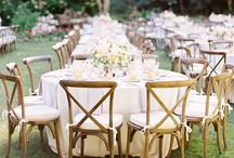 Wedding tables and chairs / Providing some ideas for various table and chair ideas to suit your venue and wedding style