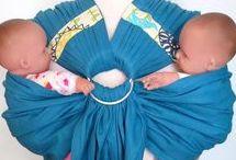 Twin - wearing / twin slings twin carriers twin baby wearing