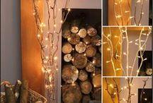 Christmas - indoor lighting / Indoor Christmas lighting