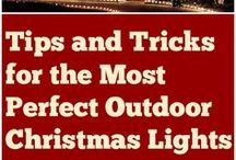 Christmas - Outdoor lighting / all things bright lights for ourside your home