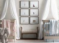 Twin - Nursery ideas / home decor ideas for a twin nursery