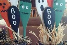 Halloween - home made decorations / all things hand made and easy crafts for Halloween