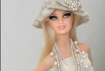 Barbie clothing / knit, crochet en sewing  it al can !