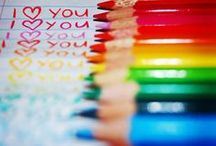 × Rainbow colors