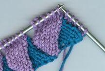 knitting tutorials en techniques