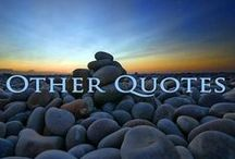 Quotes - Other / Be sure to also like us on Facebook http://www.facebook.com/wfpccdailyquotes