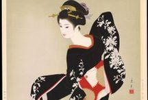 Tatsumi Shimura / Japanese illustrator Showa period.