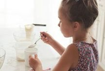 Kids in the Kitchen / Getting kids active in the kitchen with age appropriate tasks, kid friendly recipes, tips and advice