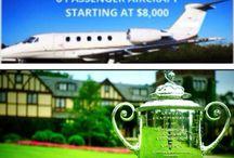 PGA Championship / Charter a jet to the PGA Championship