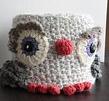crochet home decoration / blankets, pillows and more