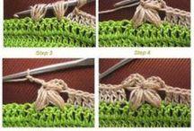 crochet tutorials & patterns