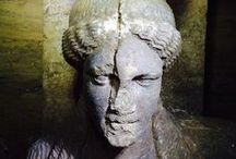Greece - Amphipolis / #Amphipolis# #Amfipolis# #Greece# #Ancient Tomb# #Statues of Caryatid Maidens#