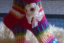 knitting soks en boots