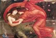 Sir Edward Coley Burne-Jones / preraphaellite painter