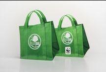 GREEN BAG /  logo brand identity print