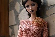 Barbie knit & crochet clothes / by Nicole Kuliha