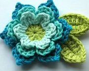 crochet flowers & more / flowers and leafs