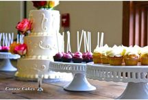 Dessert  Bar / Dessert bars makes a great addition to the  wedding cake and events