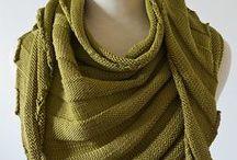 knitting shawls en scarfs