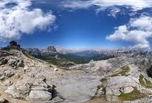 Panorama / Panorami immersivi delle Dolomiti. Foto a 360°