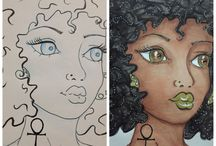 My Art Journal Pages / My art journal pages