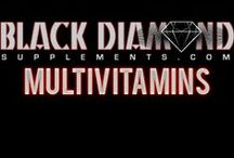 Multivitamins / A multivitamin acts as a dietary supplement, providing vitamins, dietary materials, and other nutritional elements.