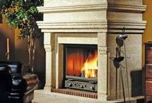 Fireplace Surrounds / Add that special touch to your great room, den, living room or any room with a custom fireplace surround from O&G.