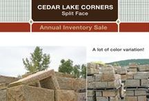 Product Promotions / O&G Masonry Division offers overstock and annual promotions on a number of natural stone products.  Click on the photo's to view products, specifications and discounted pricing.