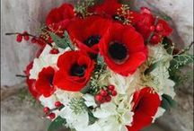 Mariage coquelicot