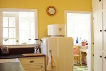 Folk/ farmhouse Kitchen / How to create the yesterday vibe today or storage and design solutions from the farmhouse kitchen