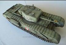 Modellismo - Churchill Mk. IV / Churchill Mk. IV (AFV 35154) - 1/35 scale model (http://vonvikken-modellismo.blogspot.it/search/label/Churchill)