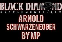 Arnold Schwarzenegger by MP / Get buff like Arnold! For the hardest of workers and bodybuilders. #workout #fitness