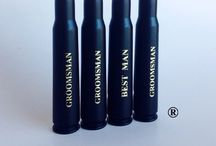Personalized Best Man And Groomsmen Gifts / Engraved 50 Cal Bullet Bottle Openers